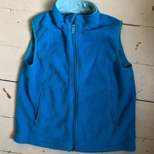 LL BEAN kids fleece vest